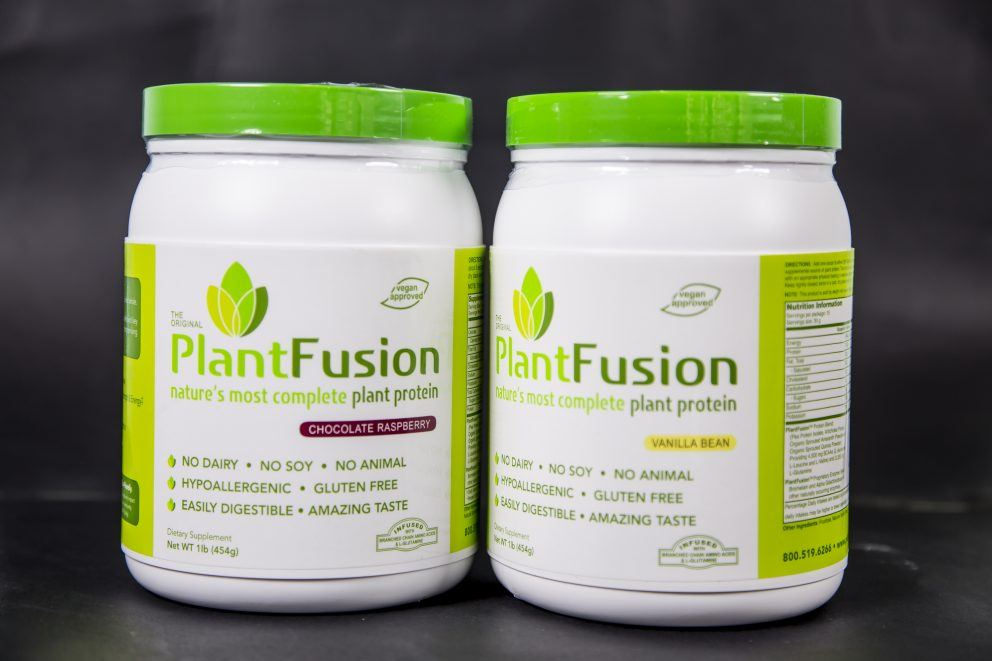 Unflavoured 454g -Plant Fusion