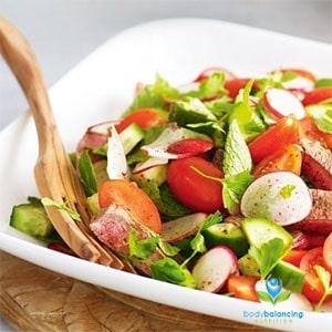 Spiced Lamb with Radish & Bean Salad